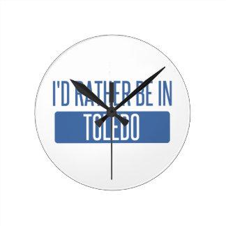 Toledo Ronde Klok Medium