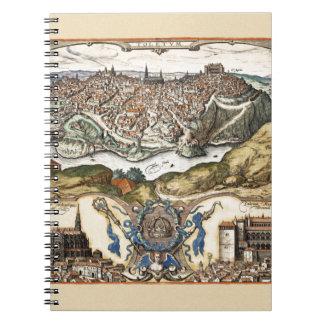 Toledo Spanje 1566 Ringband Notitieboek