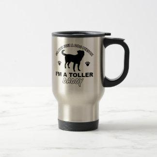 TOLLER het design van de hondpapa Reisbeker