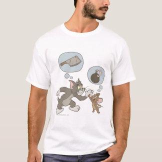 Tom en Jerry Evil Thoughts T Shirt