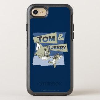 Tom en Jerry Scaredey Mouse OtterBox Symmetry iPhone 7 Hoesje