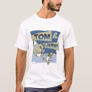 Tom en Jerry Scaredey Mouse T Shirt