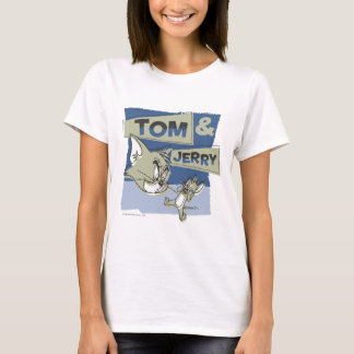 Tom en Jerry Scaredey Mouse T Shirt