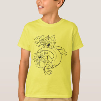 Tom en Jerry | Tom en Jerry Laughing T Shirt