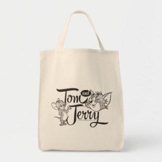 Tom en Jerry | Tom en Jerry Looking Sweet Boodschappen Draagtas