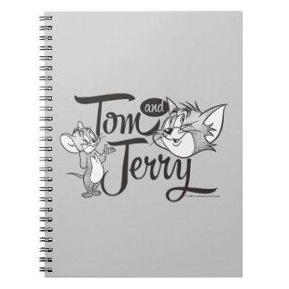 Tom en Jerry | Tom en Jerry Looking Sweet Ringband Notitieboek