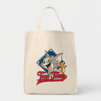 Tom en Jerry | Tom en Jerry op de Diamant van het Boodschappen Draagtas