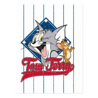 Tom en Jerry | Tom en Jerry op de Diamant van het Briefkaart