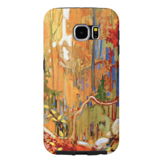 Tom Thomson - de Slinger van de Herfst Samsung Galaxy S6 Hoesje