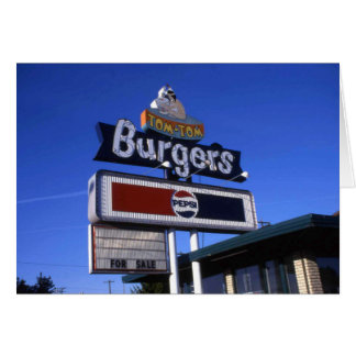 Tom-Tom Hamburger Yakima Briefkaarten 0