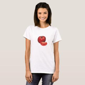 Tomaat en tomatenplak t shirt