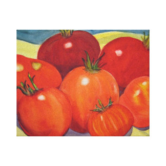Tomaten van Mijn Tuin Canvas Print