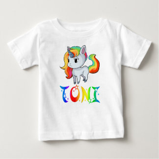 Toni Unicorn Baby T-Shirt