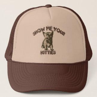 Toon me Uw Katten Trucker Pet