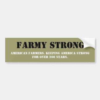 Toon Uw Appreciatie voor Amerikaanse Landbouwers Bumpersticker