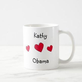 Toon uw mok van de Steun Obama