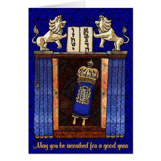 Torah in de Geopende Bak Briefkaarten 0