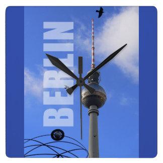 Toren 01.3 van TV van BERLIJN Vierkante Klok