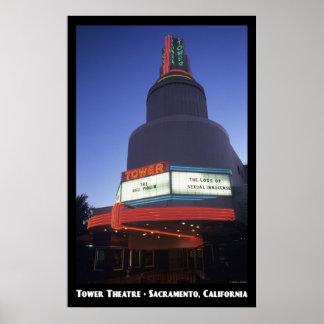Toren, het Poster van Sacramento