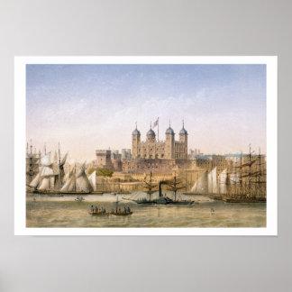 Toren van Londen, c.1862 (kleurenlitho) Poster