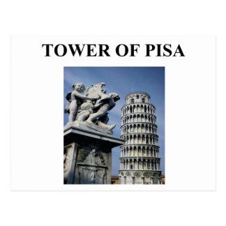 toren van Pisa Italië Briefkaart