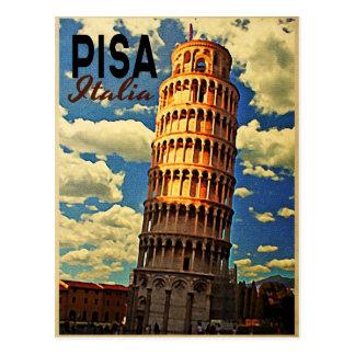 Toren van Pisa ltaly Briefkaart
