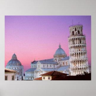 Toren van Pisa Poster