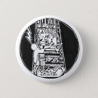 Toren van vernietigingszwarte - Verbazende Sticker Ronde Button 5,7 Cm