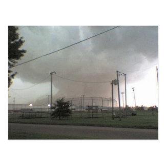 Tornado in het Briefkaart van Arkansas