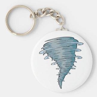 Tornado Keychain Basic Ronde Button Sleutelhanger
