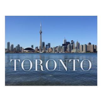 Toronto cityscape briefkaart