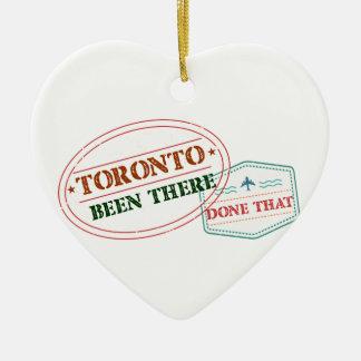 Toronto daar gedaan dat keramisch hart ornament