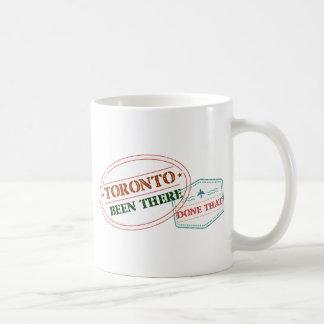 Toronto daar gedaan dat koffiemok
