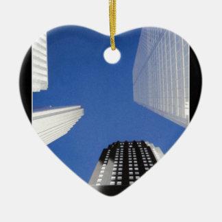 Toronto Keramisch Hart Ornament