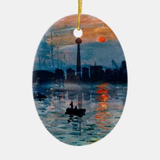 Toronto Skyline40 Keramisch Ovaal Ornament