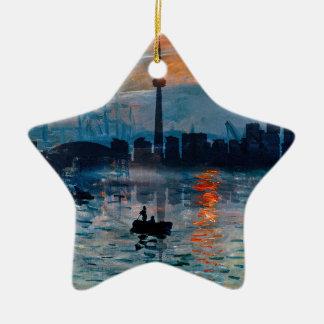 Toronto Skyline40 Keramisch Ster Ornament