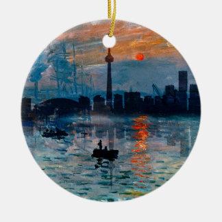 Toronto Skyline40 Rond Keramisch Ornament