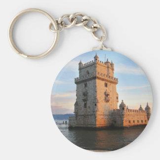 Torre DE Belém - de Toren Portugal van Belem Sleutelhanger
