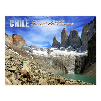Torres del Paine National Park, Chili Briefkaart
