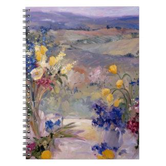 Toscanië Bloemen Notitieboek