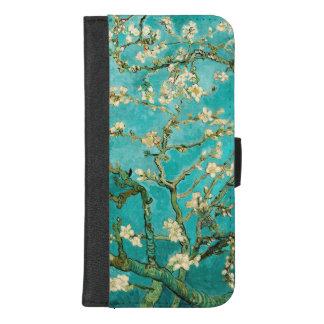 Tot bloei komende Amandel Vintage Floral Van Gogh iPhone 8/7 Plus Portemonnee Hoesje