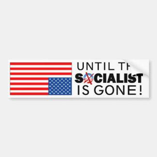 Tot de Socialist is gegaan Bumpersticker
