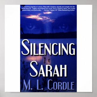 Tot zwijgen brengend Poster Sarah