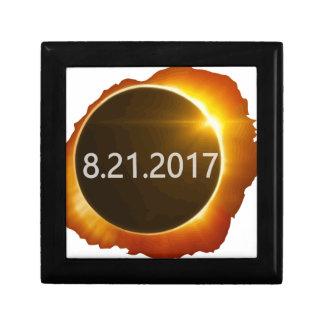 Totaal-zonne-Eclipse2 Decoratiedoosje