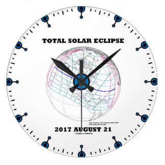 Totale ZonneVerduistering 2017 21 Augustus Grote Klok