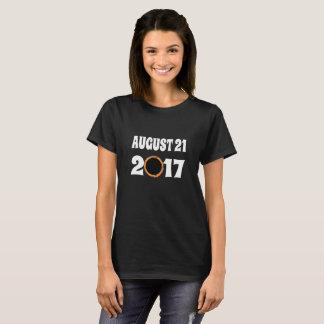 Totale ZonneVerduistering 21 Augustus 2017 T Shirt