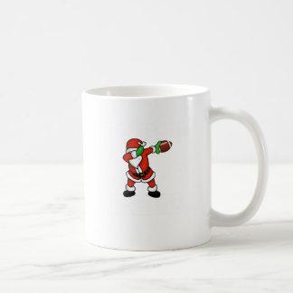 Touchdown van het Football van Kerstmis van de Koffiemok