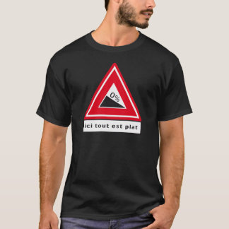 Tour de Zélande - Ici tout est plat T Shirt