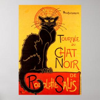 Tournee du Chat Noir het Poster van de Kat