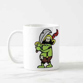Tovenaar 101 de Piraat Gobbler van de Krabbel Koffiemok